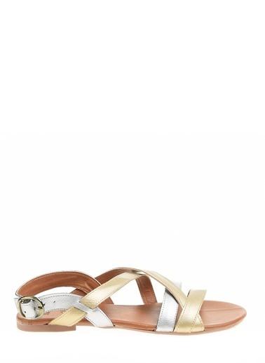 Polaris Spor Sandalet Altın